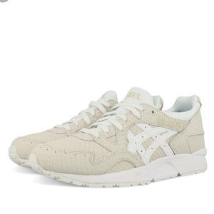 ASICS Women's Gel Lyte V WhiteCream Snakeskin